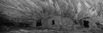 Ancient Civilization Photograph - Dwelling Structures On A Cliff, House by Panoramic Images