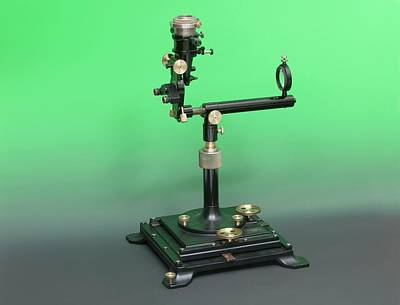Early 20th Century Ophthalmoscopy Tool Art Print by Mark Thomas/science Photo Library