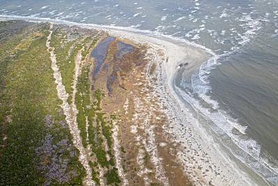 Coastal Georgia Photograph - East Coast Aerial Near Jekyll Island by Betsy Knapp