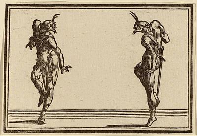 Edouard Eckman After Jacques Callot Flemish Art Print