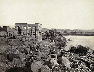 Egypt Island Of Philae Art Print