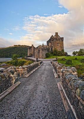 Water Scape Photograph - Eilean Donan Castle by Marcia Colelli