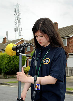 Ems Photograph - Electromagnetic Radiation Monitoring by Public Health England