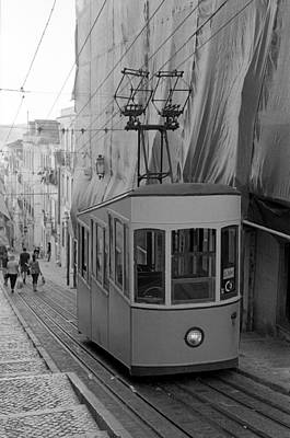 Photograph - Elevador Da Bica by Luis Esteves