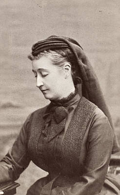 Empress Eugenie Of France (1826-1920) Art Print