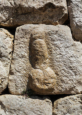 Fertility Symbols Wall Art - Photograph - Empuries Also Known As Ampurias, Spain by Ken Welsh
