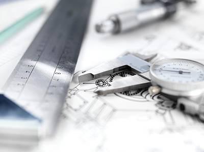 Engineering Design Art Print by Tek Image