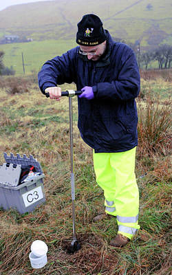 Environmental Soil Monitoring Print by Public Health England