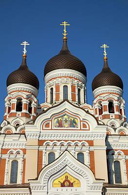 Russian Cross Photograph - Estonia, Tallinn by Jaynes Gallery