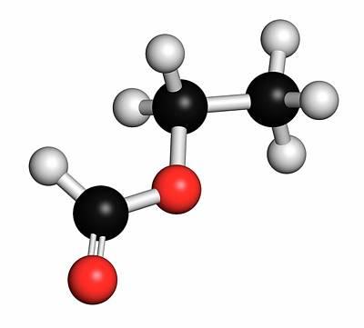 Ethylhexyl Triazone Sunscreen Molecule Art Print by Molekuul