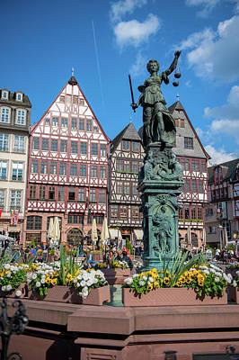 Hessen Photograph - Europe, Germany, Hessen, Frankfurt by Jim Engelbrecht