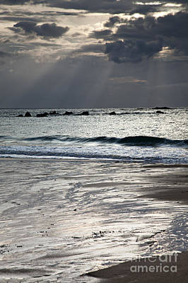 Brittany Photograph - Evening At The Sea by Nailia Schwarz