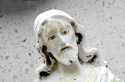 Face Of Jesus Panteon San Lucas San Jose Del Cabo Mexico 2010 Original by John Hanou