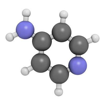 Multiple Sclerosis Photograph - Fampridine Multiple Sclerosis Drug by Molekuul