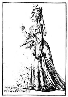 Parody Drawing - Farinelli (1705-1782) by Granger