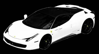 Photograph - Ferrari by J Anthony