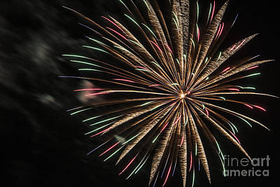 Photograph - Fireworks by Jeannette Hunt