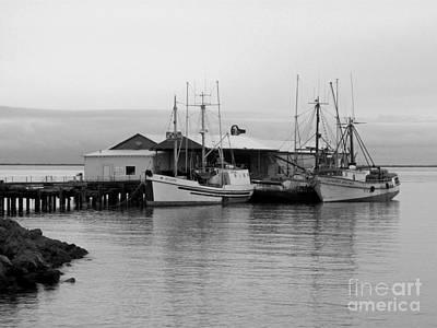 Photograph - 3 Fishing Boats by Barbara Henry