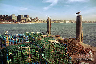 Fishing Traps Art Print