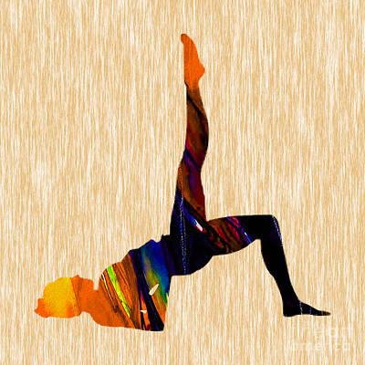 Inspirational Mixed Media - Fitness by Marvin Blaine