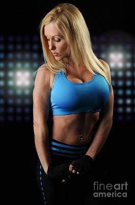 Female Bodybuilder Photograph - Fitness Model by Jt PhotoDesign