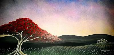 Flamboyan Art Print by Edwin Alverio
