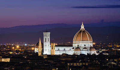 Photograph - Florence At Sunset by Pablo Lopez