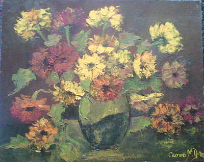 Tablou Painting - Flori by Dumitru  Ciurea