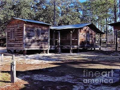 Photograph - Florida Cracker Home by D Hackett