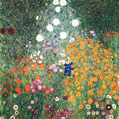 Painting - Flower Garden by Gustav Klimt