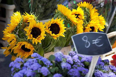 Photograph - Flowers At Market by Brian Jannsen