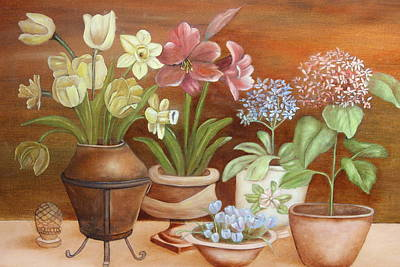 Painting - Flowers by Christine McMillan