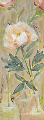 3 Flowers Art Print by Maria Langgle