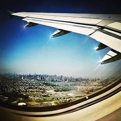 Airplane Photograph - Flying by Natasha Marco