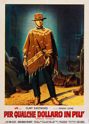For A Few Dollars More Aka Per Qualche Art Print by Everett