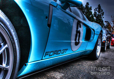 Ford Gt-40 Art Print by Tommy Anderson