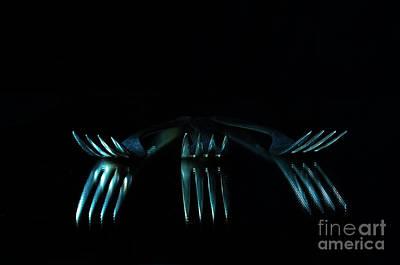 Photograph - 3 Forks by Randi Grace Nilsberg