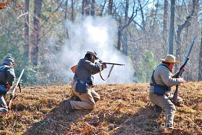 Photograph - Fort Anderson Civil War Re Enactment 2 by Jocelyn Stephenson