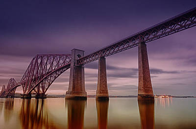 Photograph - Forth Rail Bridge by Jean-Noel Nicolas