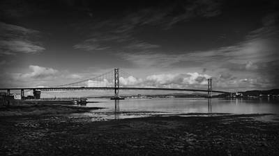 Photograph - Forth Road Bridge In Scotland by Zoe Ferrie
