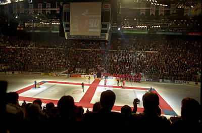 Montreal Forum Photograph - Forum by Pierre Roussel