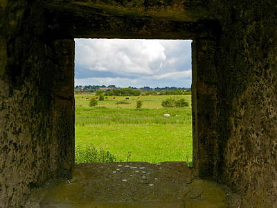 Photograph - Framed Irish Landscape by Denise Mazzocco