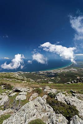 Serra Photograph - France, Corsica, Le Cap Corse, Bastia by Walter Bibikow