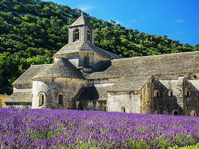 Provence Photograph - France, Provence, Seananque Abbey by Terry Eggers