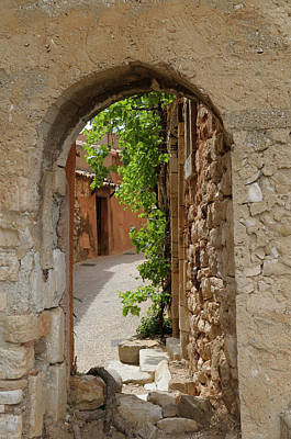 Provence Photograph - France, Vaucluse, Roussillon by Kevin Oke