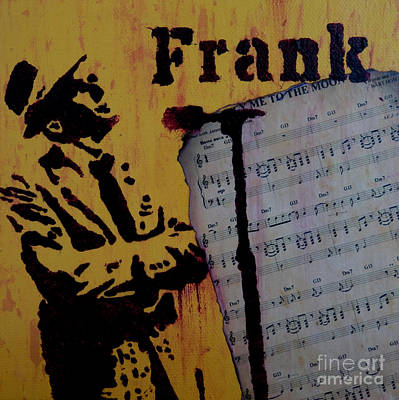 Musician Painting - Frank by Laura Toth