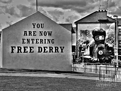 Photograph - Free Derry Corner by Nina Ficur Feenan