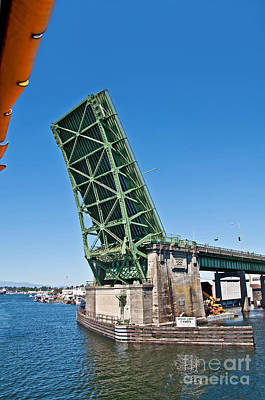Photograph - Fremont Drawbridge Seattle Wa Art Prints by Valerie Garner
