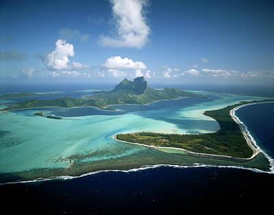 French Polynesia, Tahiti, Bora Bora Art Print