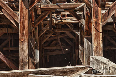 Photograph - Frisco Mill Near Animas Forks by Fred Stearns